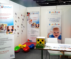 Meeting families at the Baby & Kid Planet trade fair