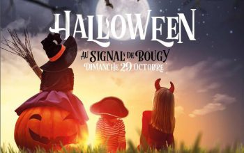 Cap Canaille Rolle daycare center will be at the Signal de Bougy for a unique Halloween experience!