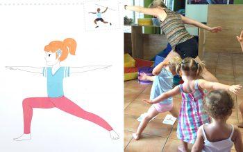 Ateliers yoga à la crèche Cap Canaille Rolle