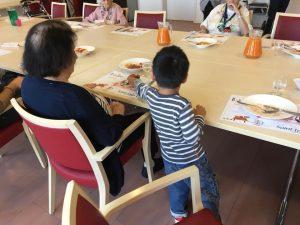 jeune enfant creche bilingue de Mies