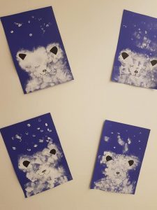 Polar bear decoration Bulle bilingual daycare