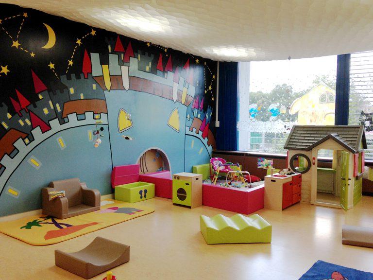 Salle préscolaires crèche bilingue Mies