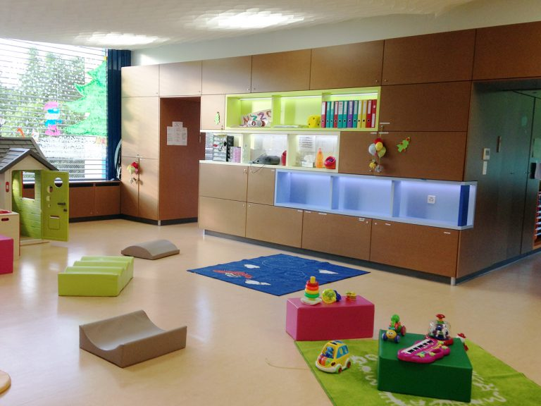 Toddlers room Mies bilingual daycare