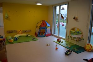 Babies room Bulle bilingual daycare
