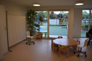 Toddlers room Bulle bilingual daycare