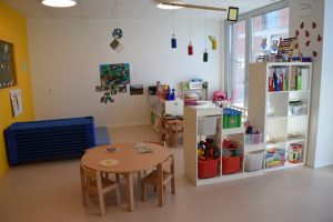 Toddlers room Mont-sur-Lausanne bilingual daycare