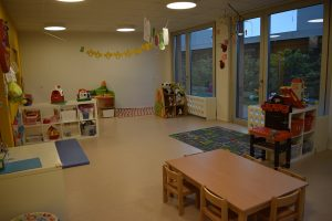Preschool room Mont-sur-Lausanne bilingual daycare