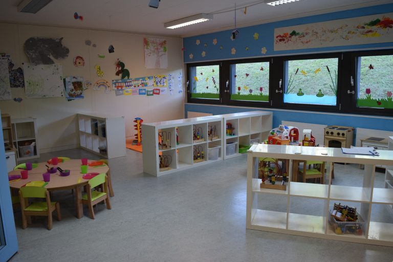 Preschool room Morges bilingual daycare