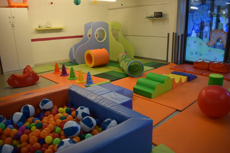 Motor skills room Morges bilingual daycare