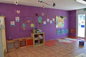 preschool room Rolle bilingual daycare