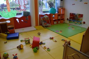 Play area Villars-sur-Glâne bilingual daycare