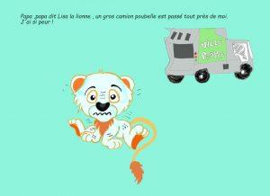 le lion livre crèche bilingue Morges